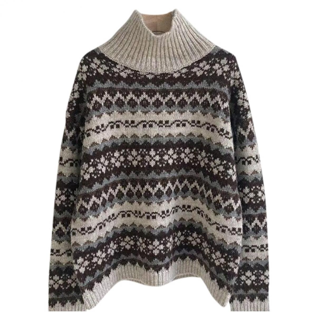 Nili Lotan - Pull   pour femme en laine - gris