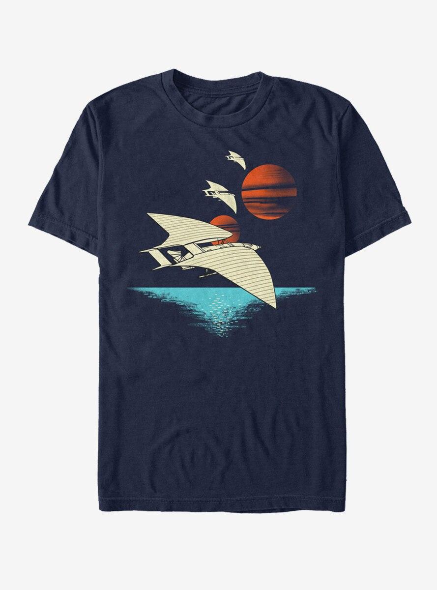 Star Wars Spacecraft Scene T-Shirt