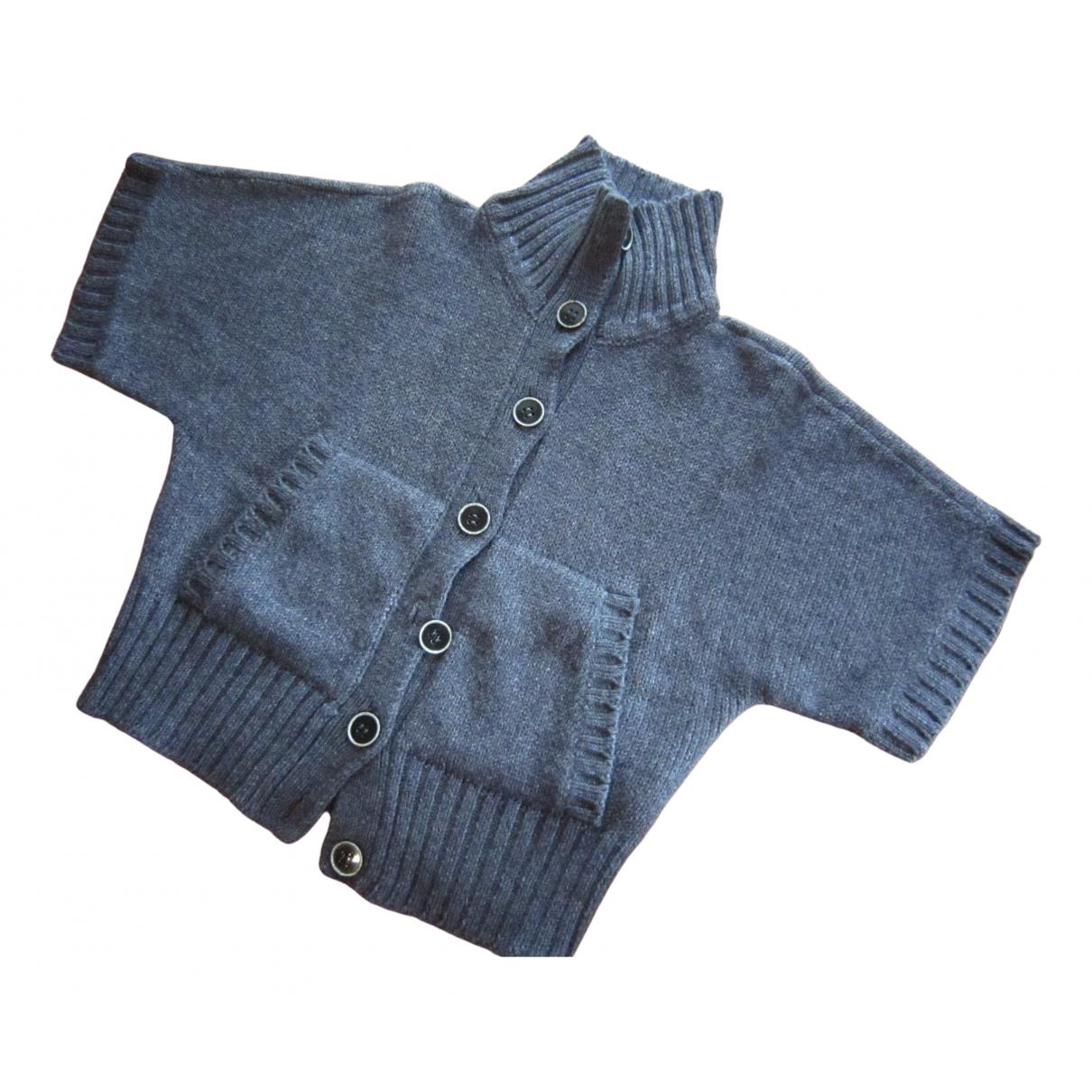 Marella - Pull   pour femme en laine - anthracite