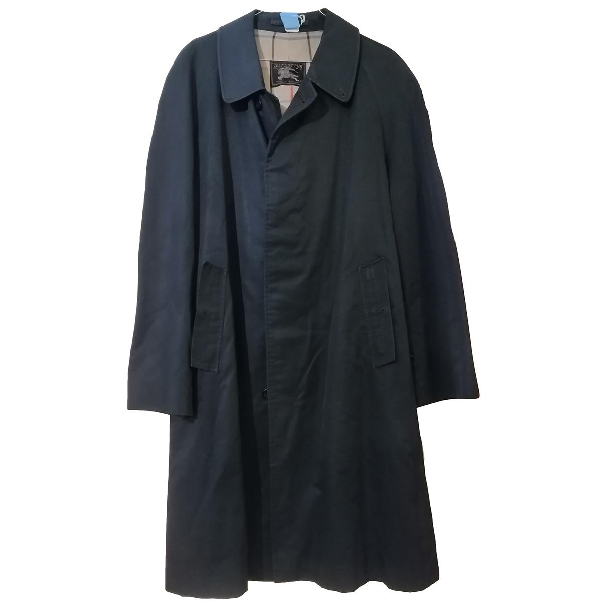 Burberry N Navy Cloth coat  for Men 44 UK - US