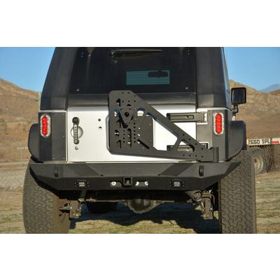 DV8 Offroad Add On Tire Carrier (Black) - TCSTTB-06