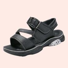 Boys Open Toe Velcro Strap Sandals