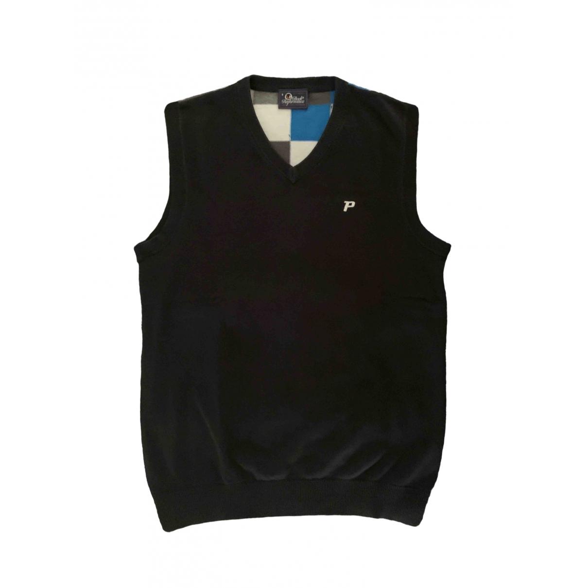 Peak Performance \N Pullover.Westen.Sweatshirts  in  Schwarz Baumwolle