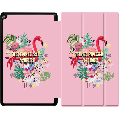 Amazon Fire HD 10 (2017) Tablet Smart Case - Flamingo Solo von Mukta Lata Barua