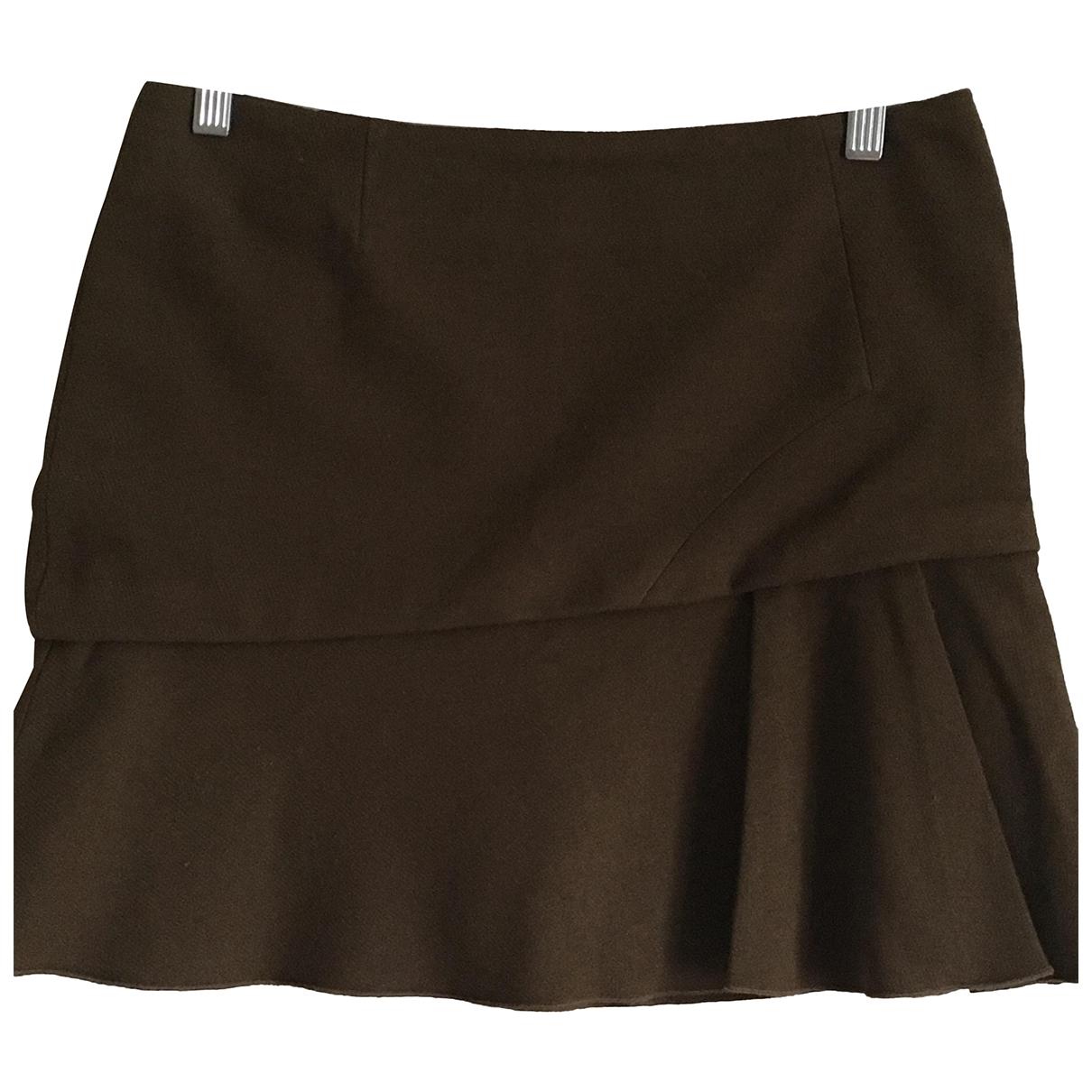 Vanessa Bruno \N Khaki Wool skirt for Women 38 FR