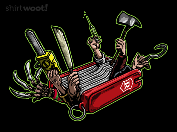 Teen Slasher Knife T Shirt