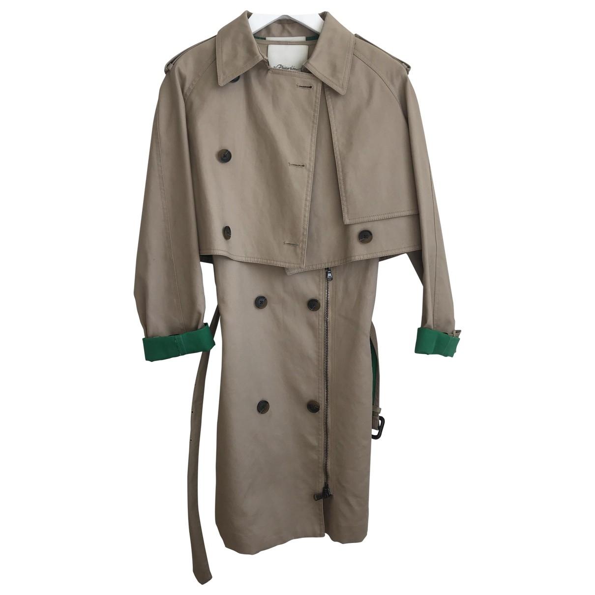 3.1 Phillip Lim \N Beige Cotton coat for Women 0 0-5