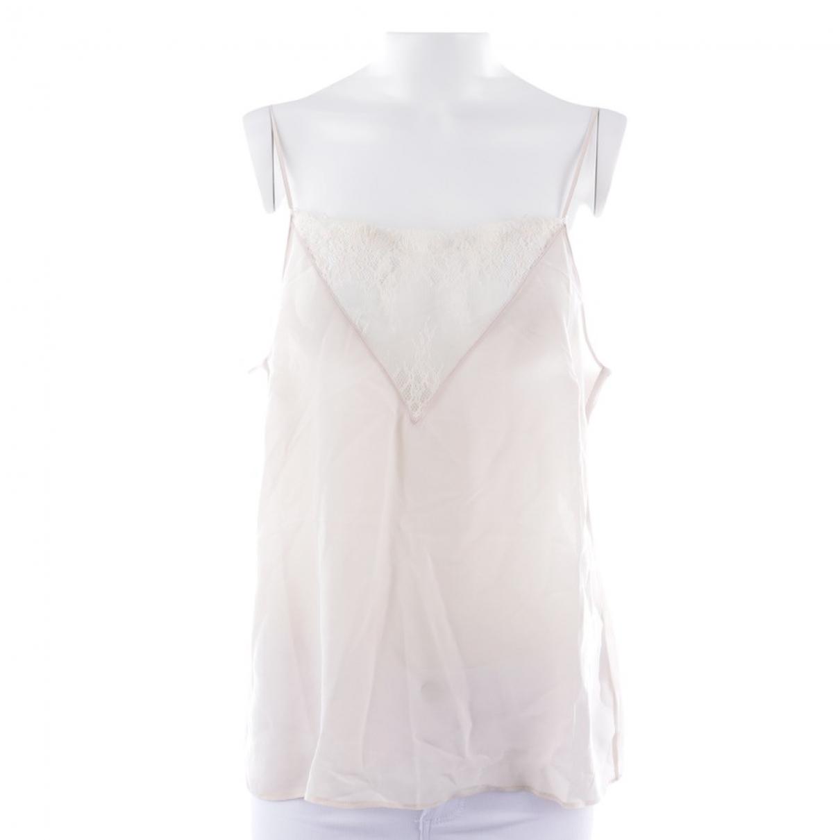 Anine Bing \N Beige Silk  top for Women M International