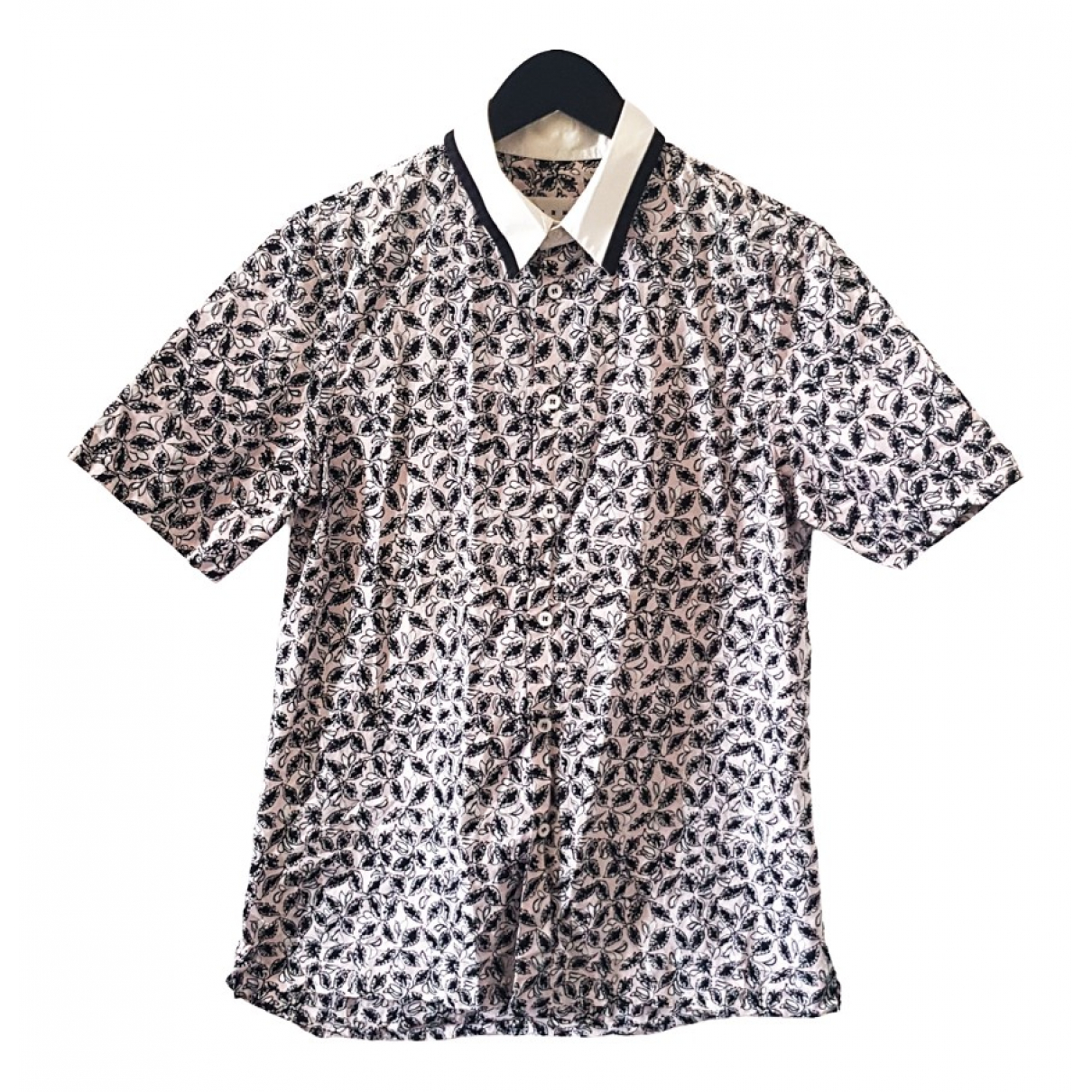 Marni N Pink Cotton Shirts for Men S International