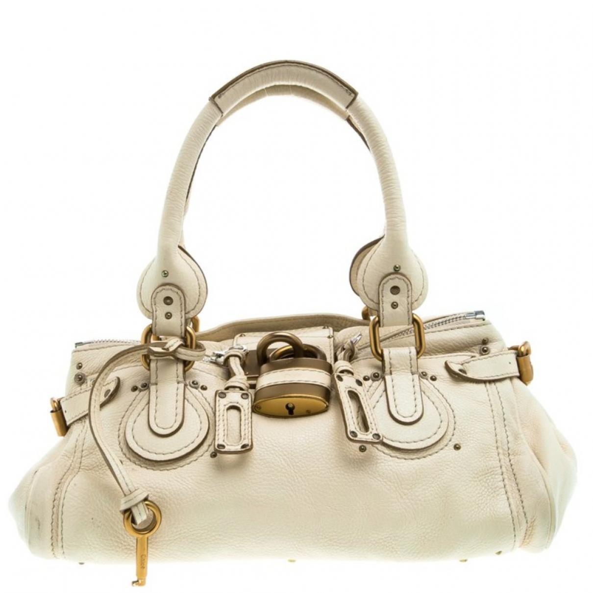 Chloé \N Leather handbag for Women \N