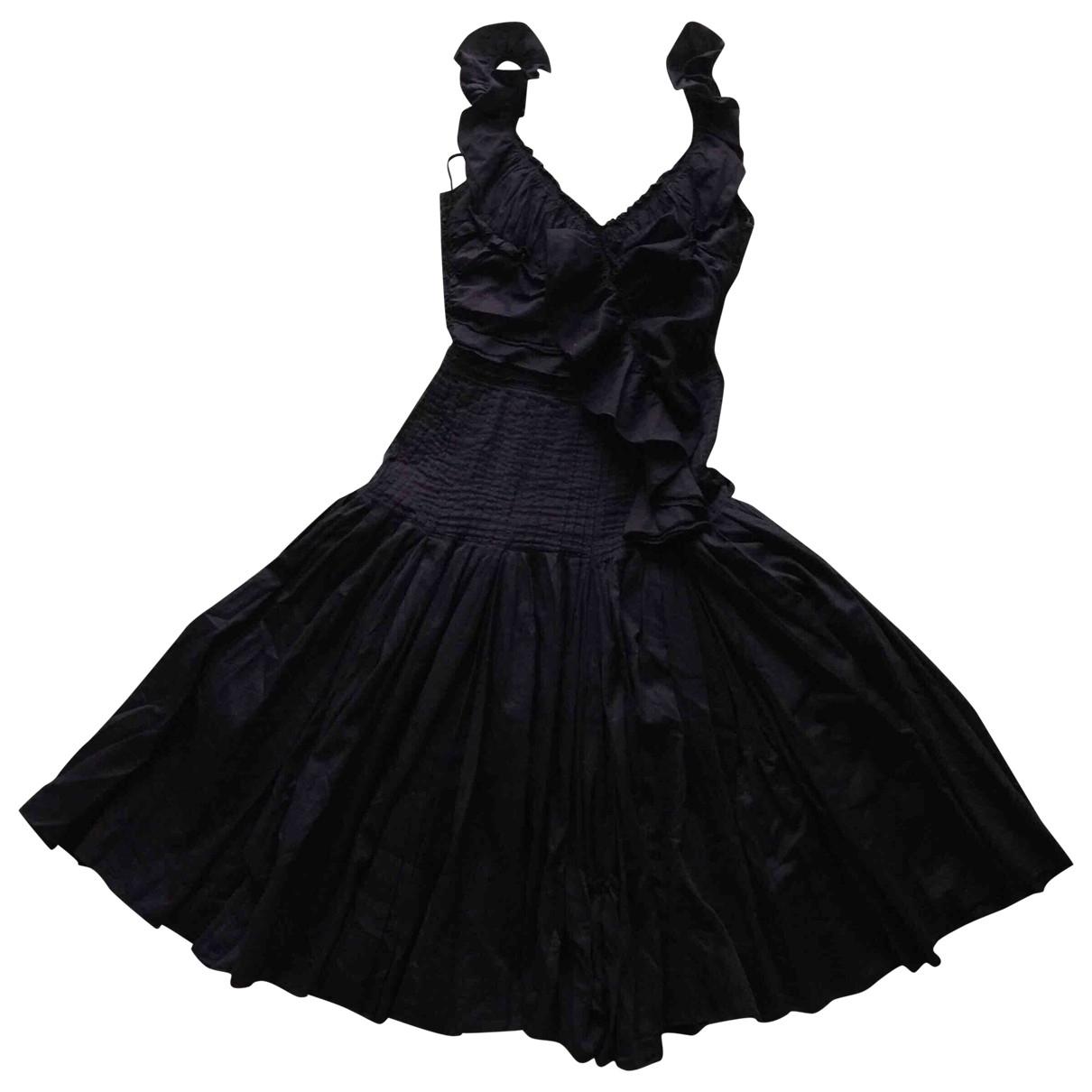 Prada \N Purple Cotton dress for Women 38 IT