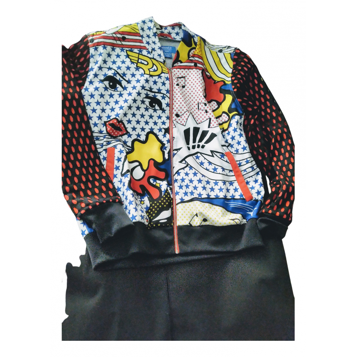Adidas \N Multicolour Leather jacket for Women 46 FR