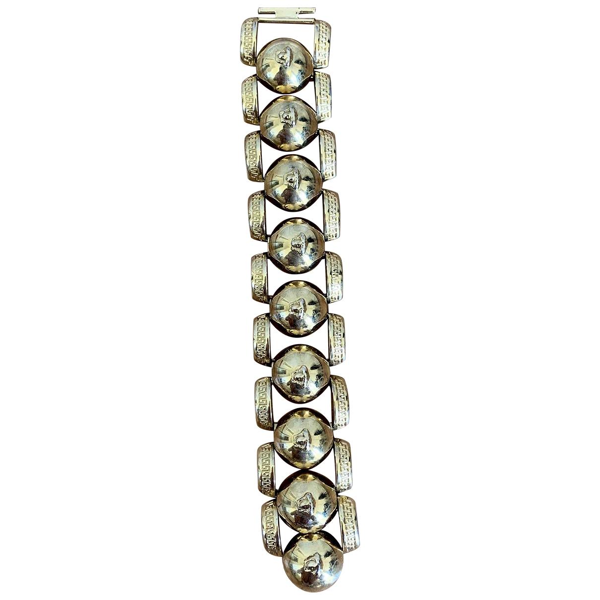 Versace - Bracelet Medusa pour femme en metal - dore