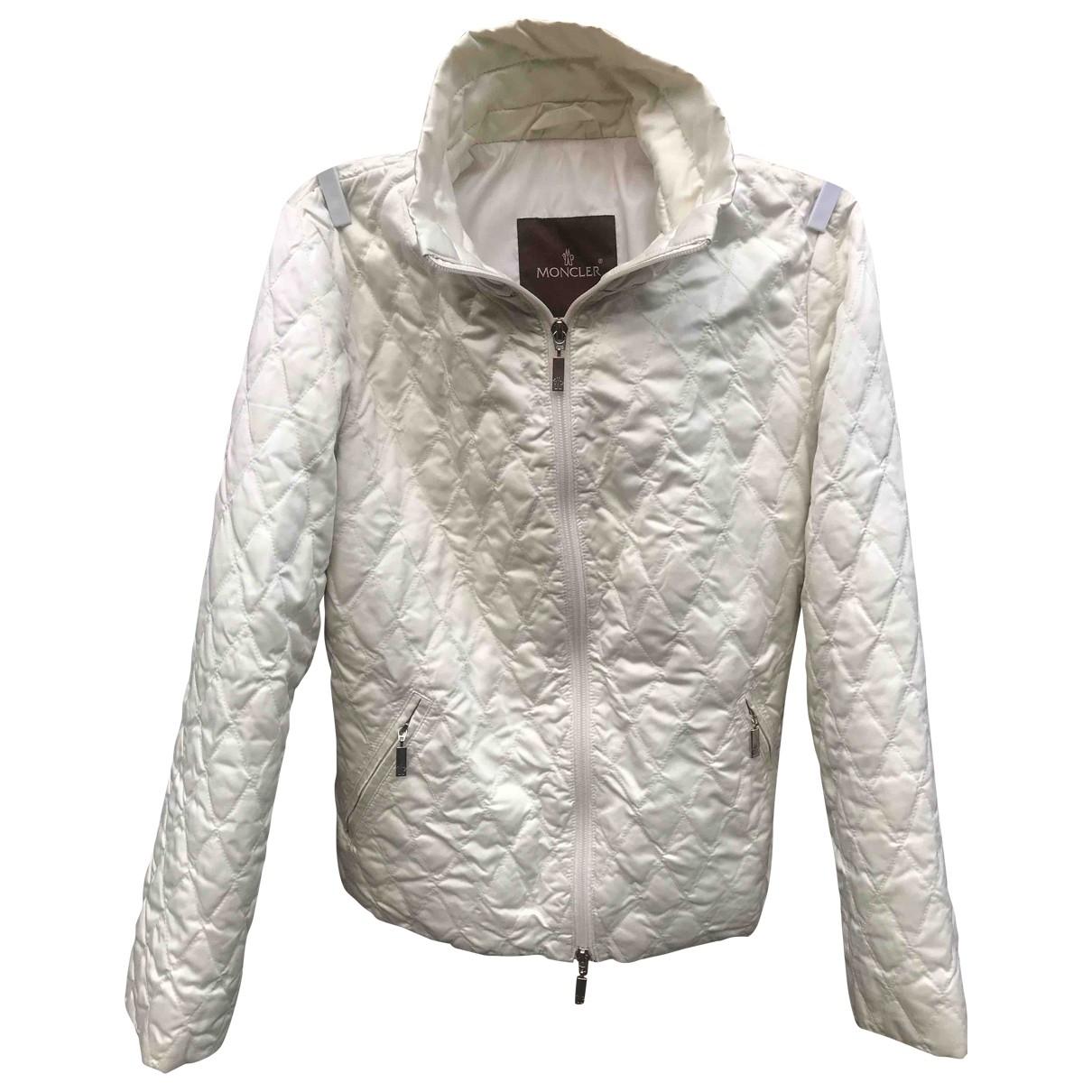 Moncler \N White coat for Women XS International