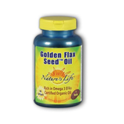 Golden Flax Seed Oil 90 softgels by Natures Life