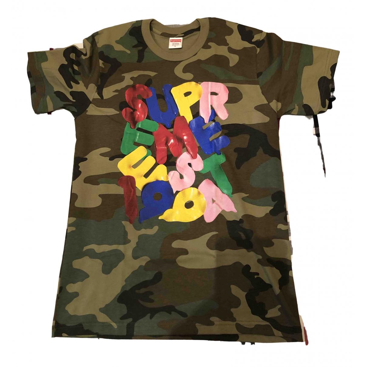 Supreme \N Green Cotton T-shirts for Men S International