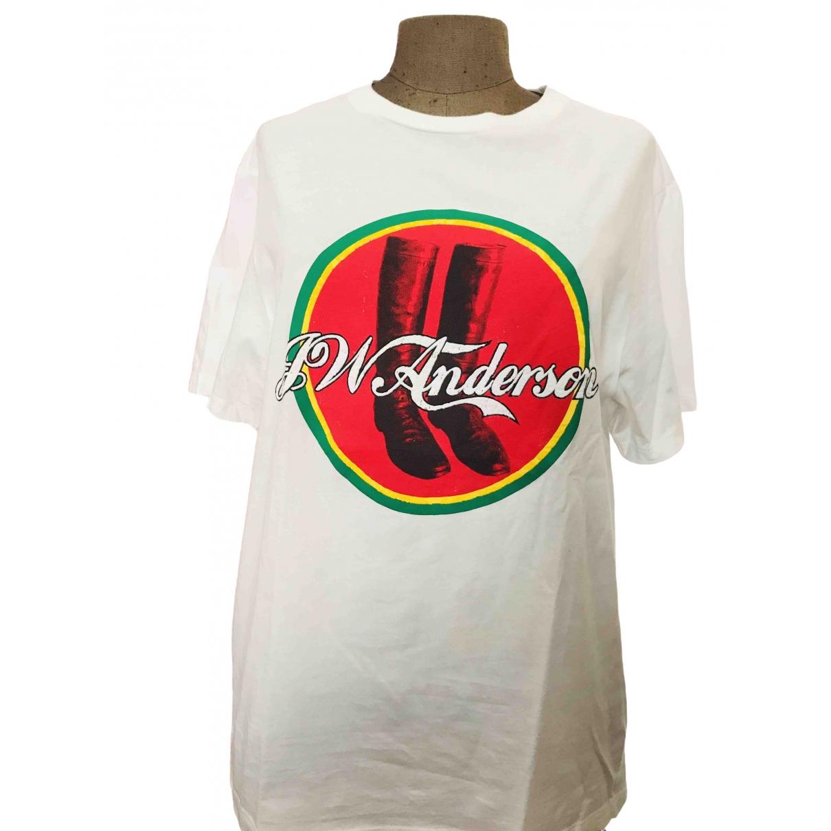 J.w. Anderson - Tee shirts   pour homme en coton - blanc