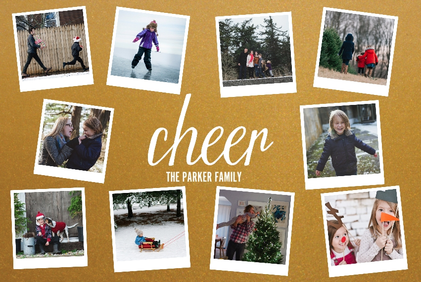 Holiday 20x30 Metal Panels, Home Décor -Cheer Snapshots