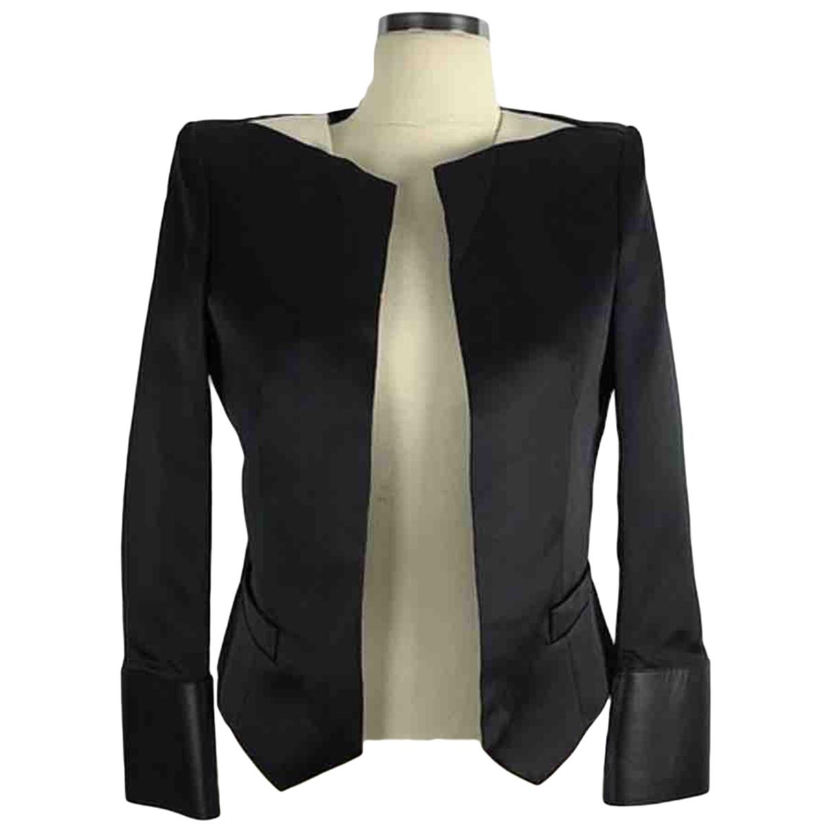 Balenciaga - Veste   pour femme en coton - noir