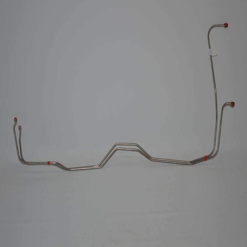 Fine Lines FTC6705SS Transmission Cooler Lines For 67-69 Chevrolet Camaro Turbo-Hydramatic 400 Stainless