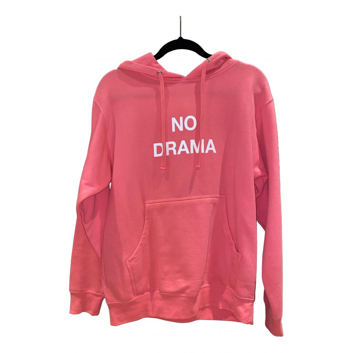 Anti Social Social Club - Pull   pour femme en coton - rose