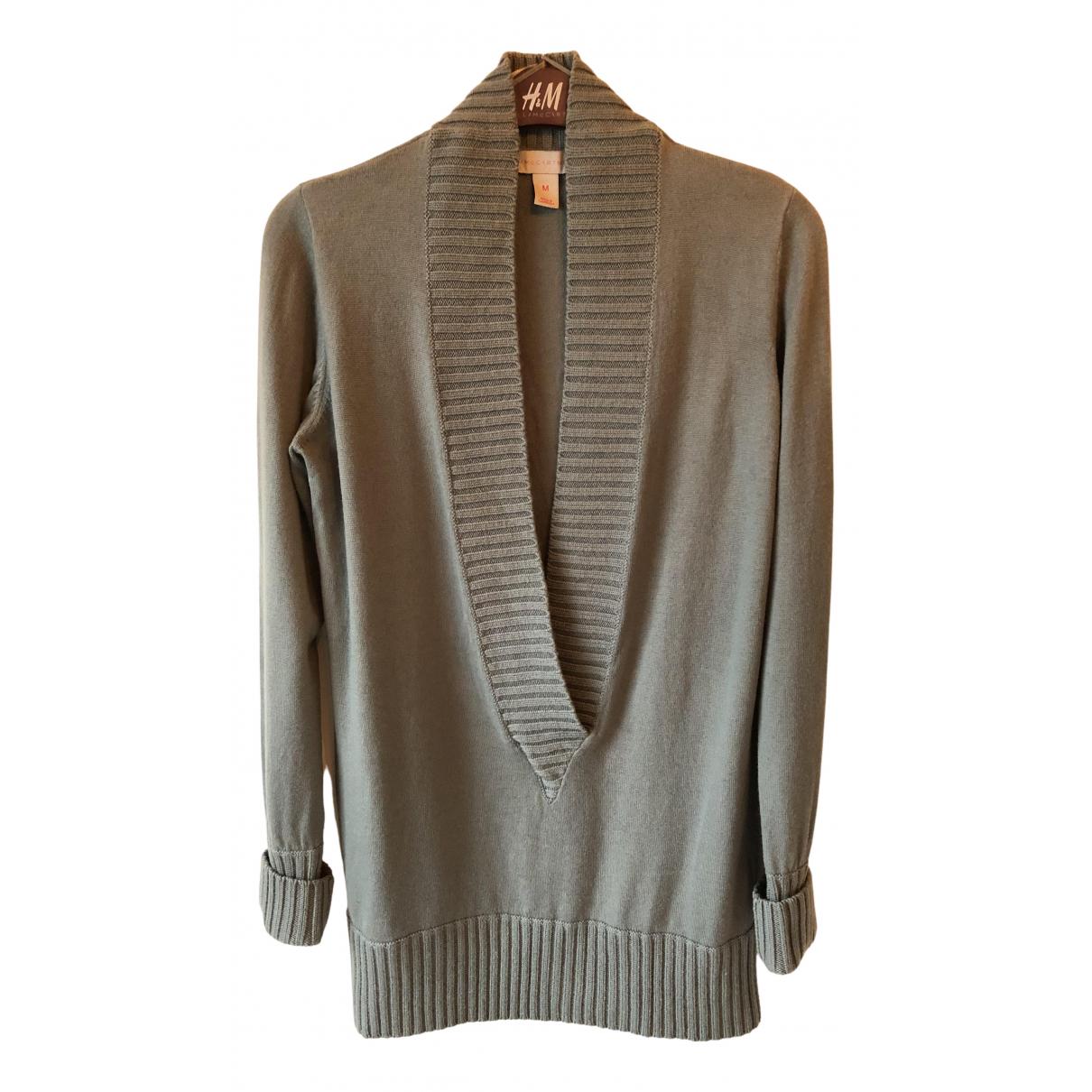 Stella Mccartney For H&m - Pull   pour femme en laine - turquoise