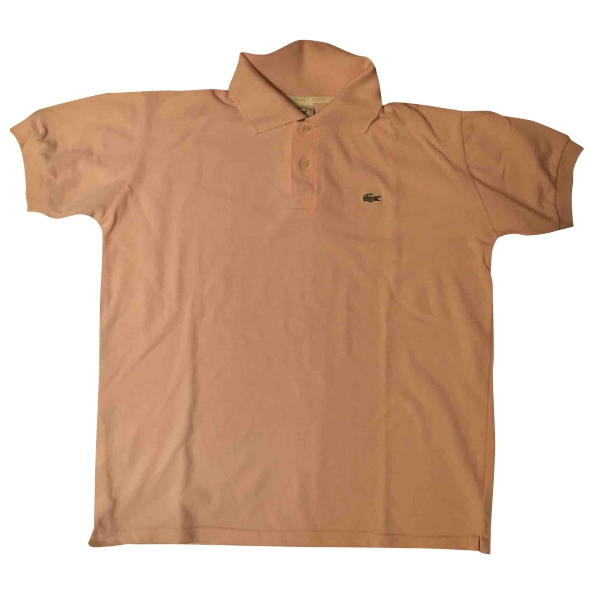 Lacoste \N Pink Cotton Polo shirts for Men L International