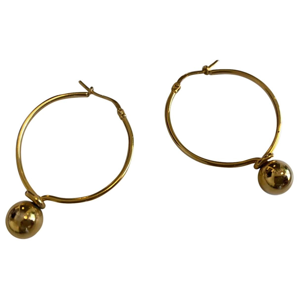 Celine \N Gold Metal Earrings for Women \N