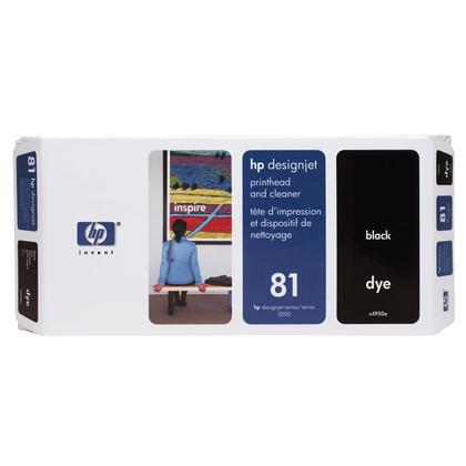 HP 81 C4950A cartouche d'encre originale noire