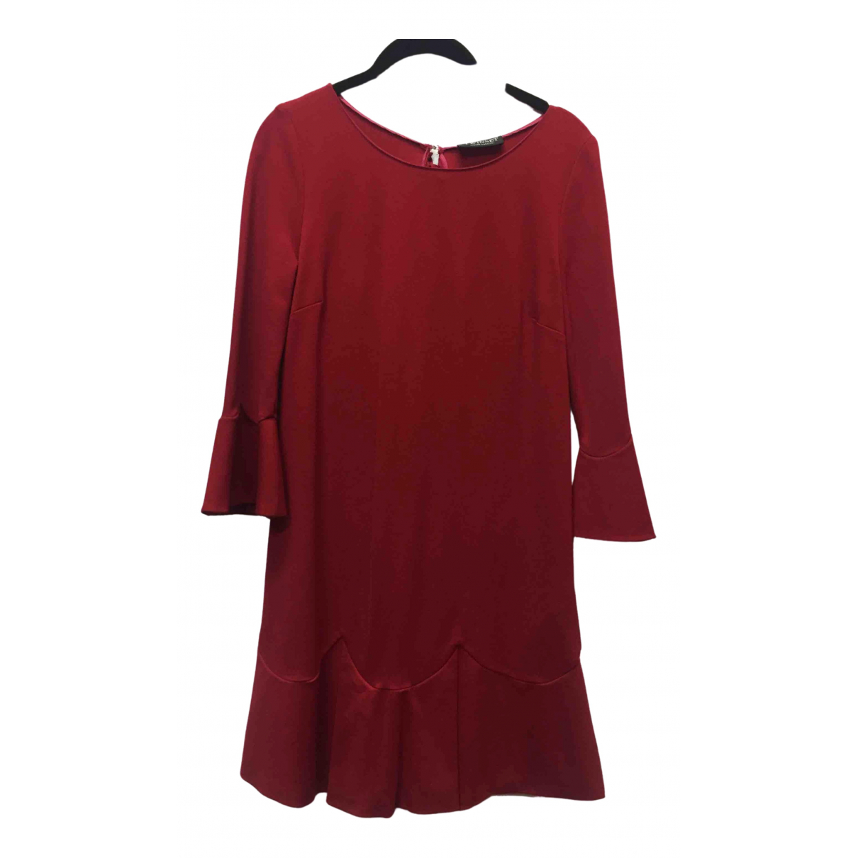 Twin Set N Red Cotton - elasthane dress for Women 44 IT