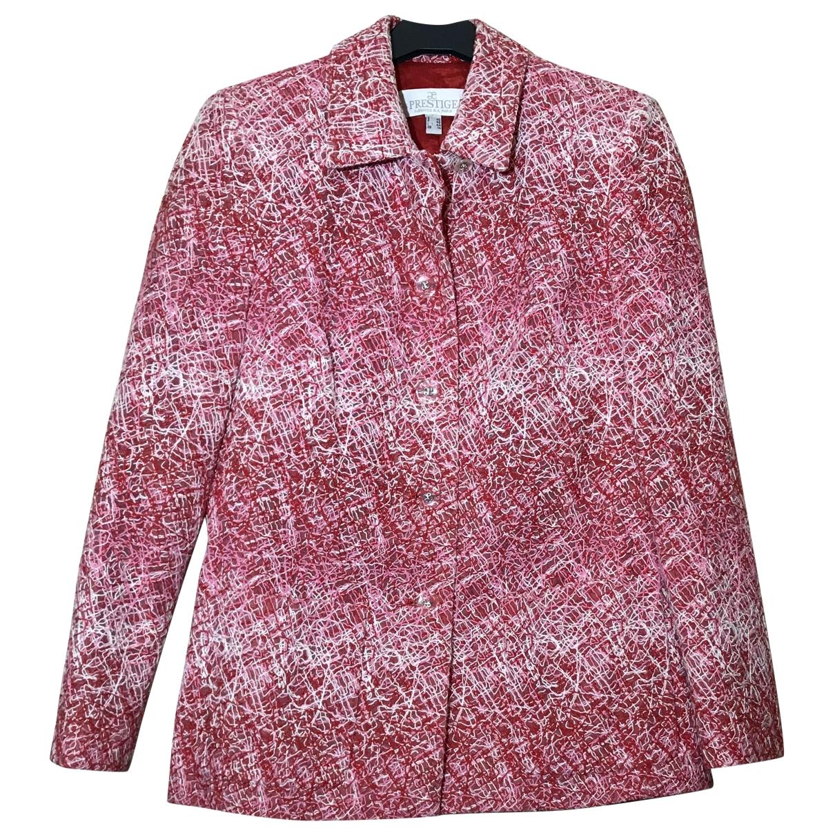 Elegance Paris - Veste   pour femme en coton - multicolore
