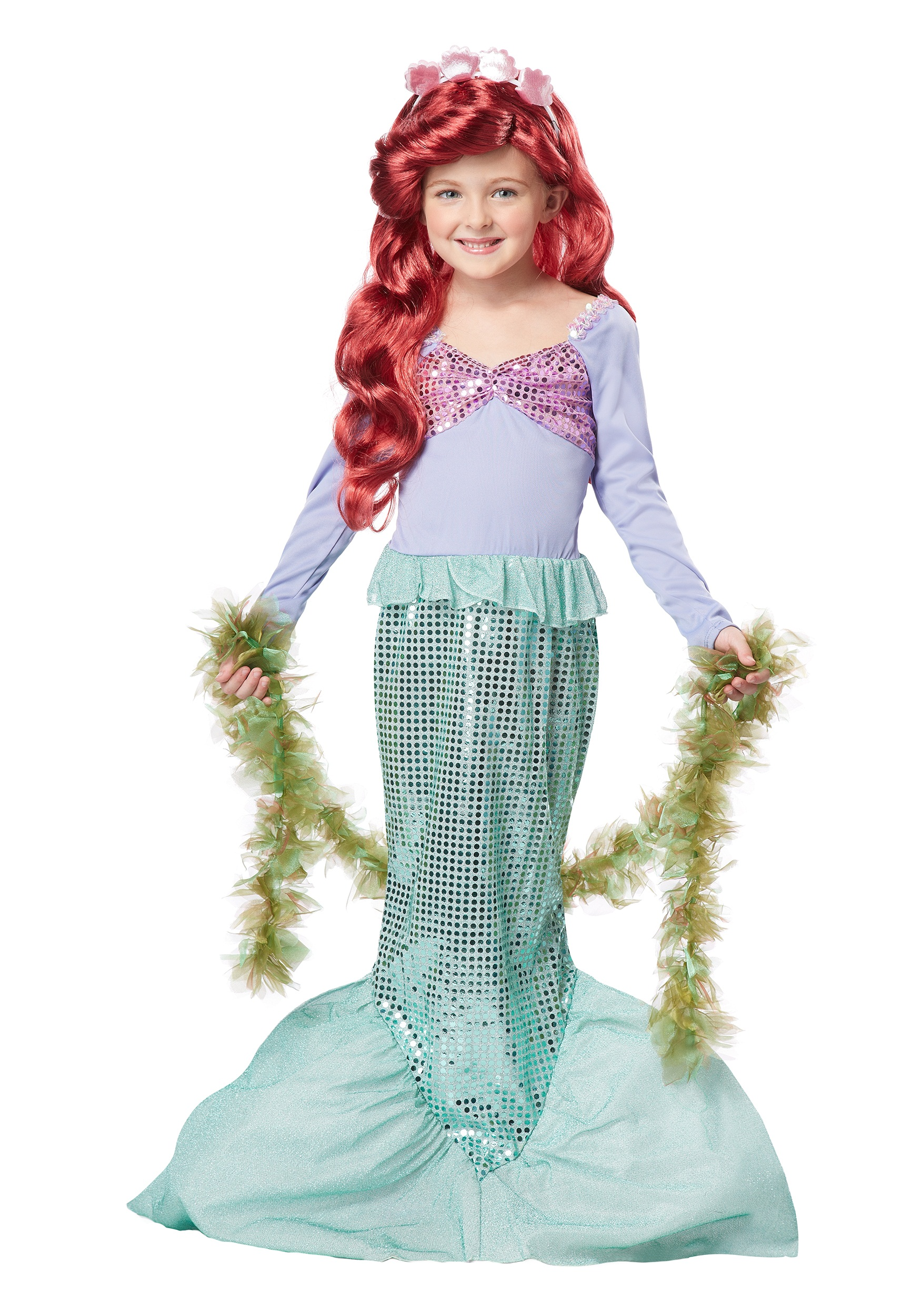 Child Mermaid Costume Dress