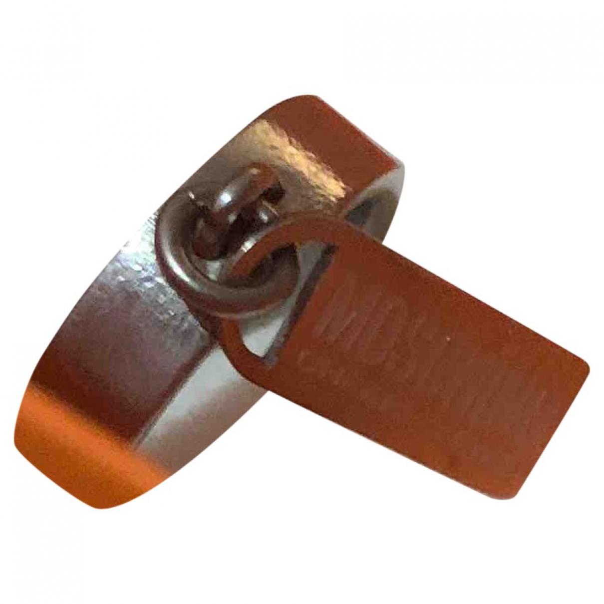Moschino - Bague   pour femme en metal - argente
