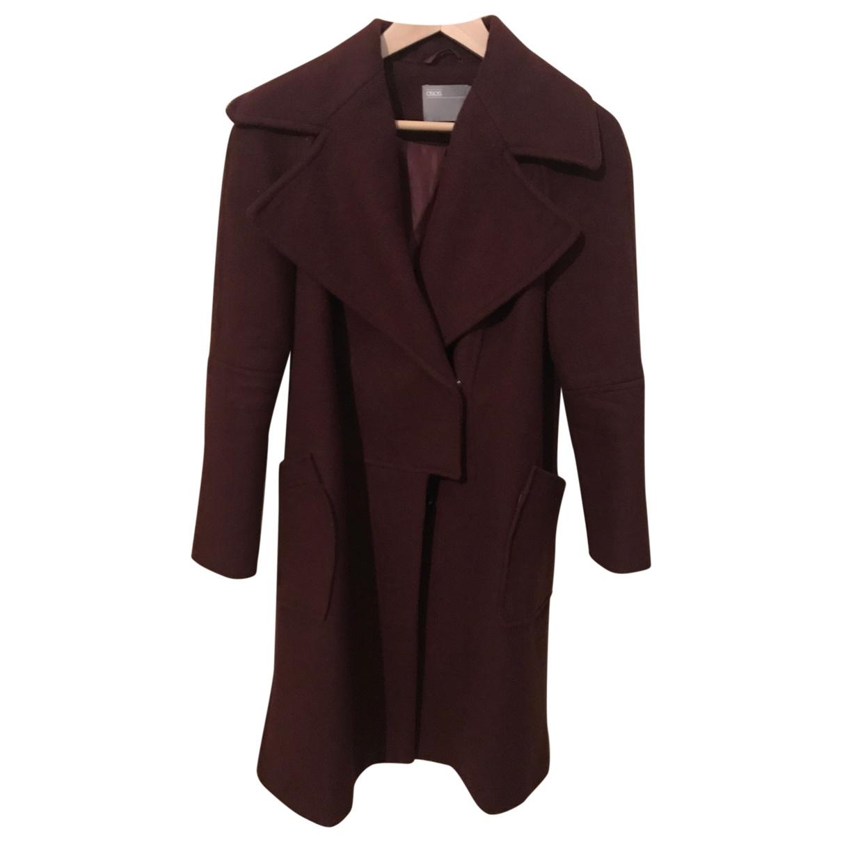 Asos - Manteau   pour femme - violet