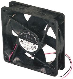 COMAIR ROTRON , 12 V dc, DC Axial Fan, 120 x 120 x 32mm, 173m³/h, 7.9W
