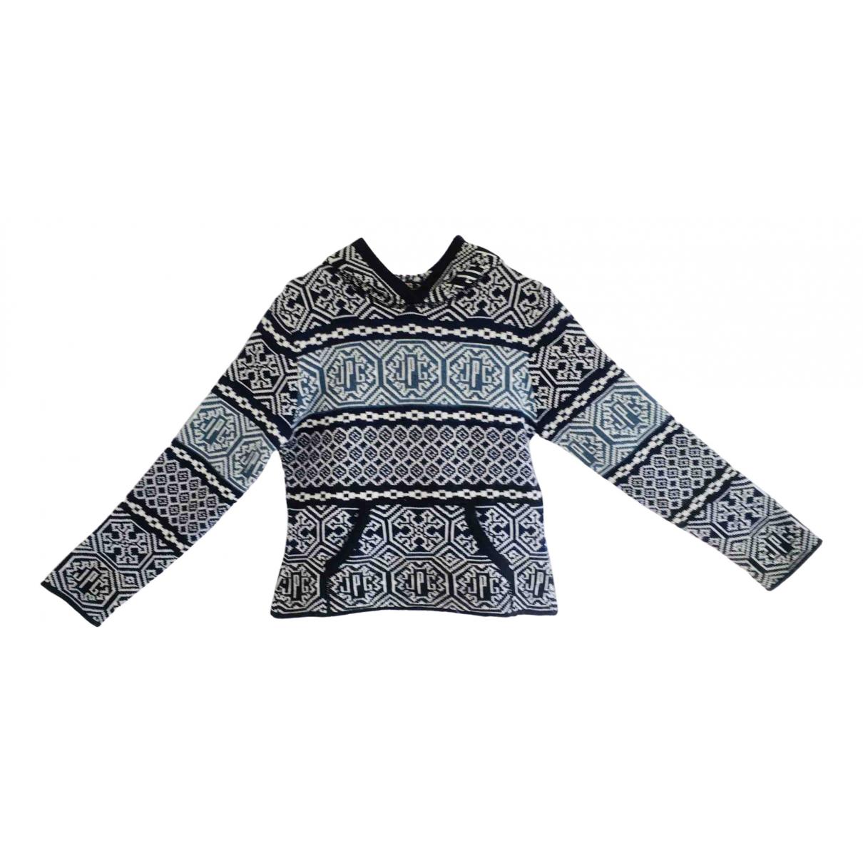 Jean Paul Gaultier N Blue Wool Knitwear for Women 40 FR