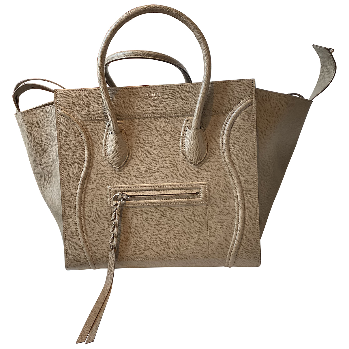 Bolso Luggage Phantom de Cuero Celine