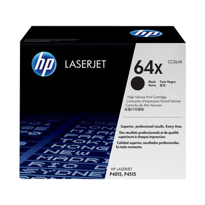HP 64X CC364X Original Black Toner Cartridge High Yield