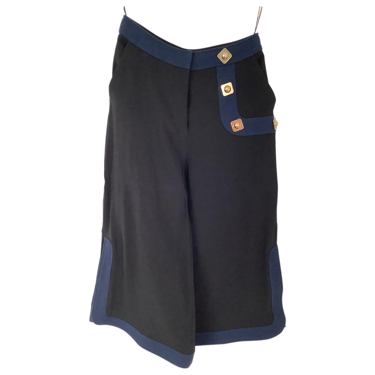 Peter Pilotto \N Shorts in  Schwarz Wolle