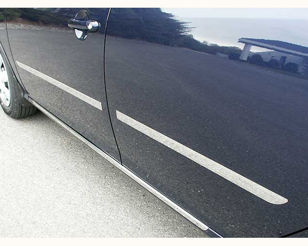 Quality Automotive Accessories 4-Piece 1.25-Inch Width Top and Bottom Crease Hyundai Elantra 2008