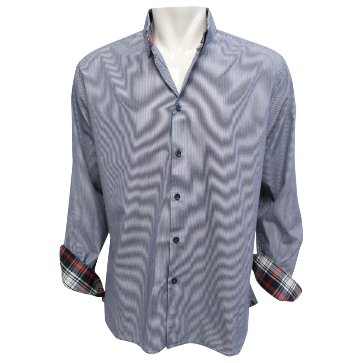 Selected \N Blue Cotton Shirts for Men XL International