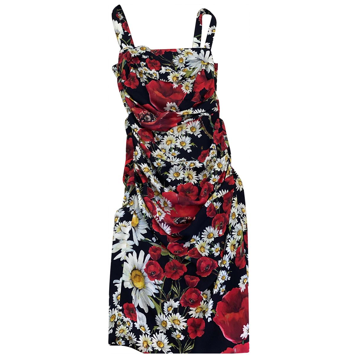 Dolce & Gabbana \N Kleid in  Rosa Polyester