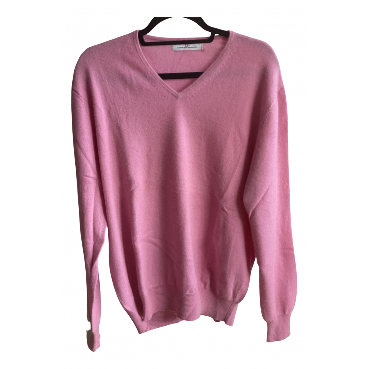 Carolina Herrera N Pink Cashmere Knitwear & Sweatshirts for Men XL International