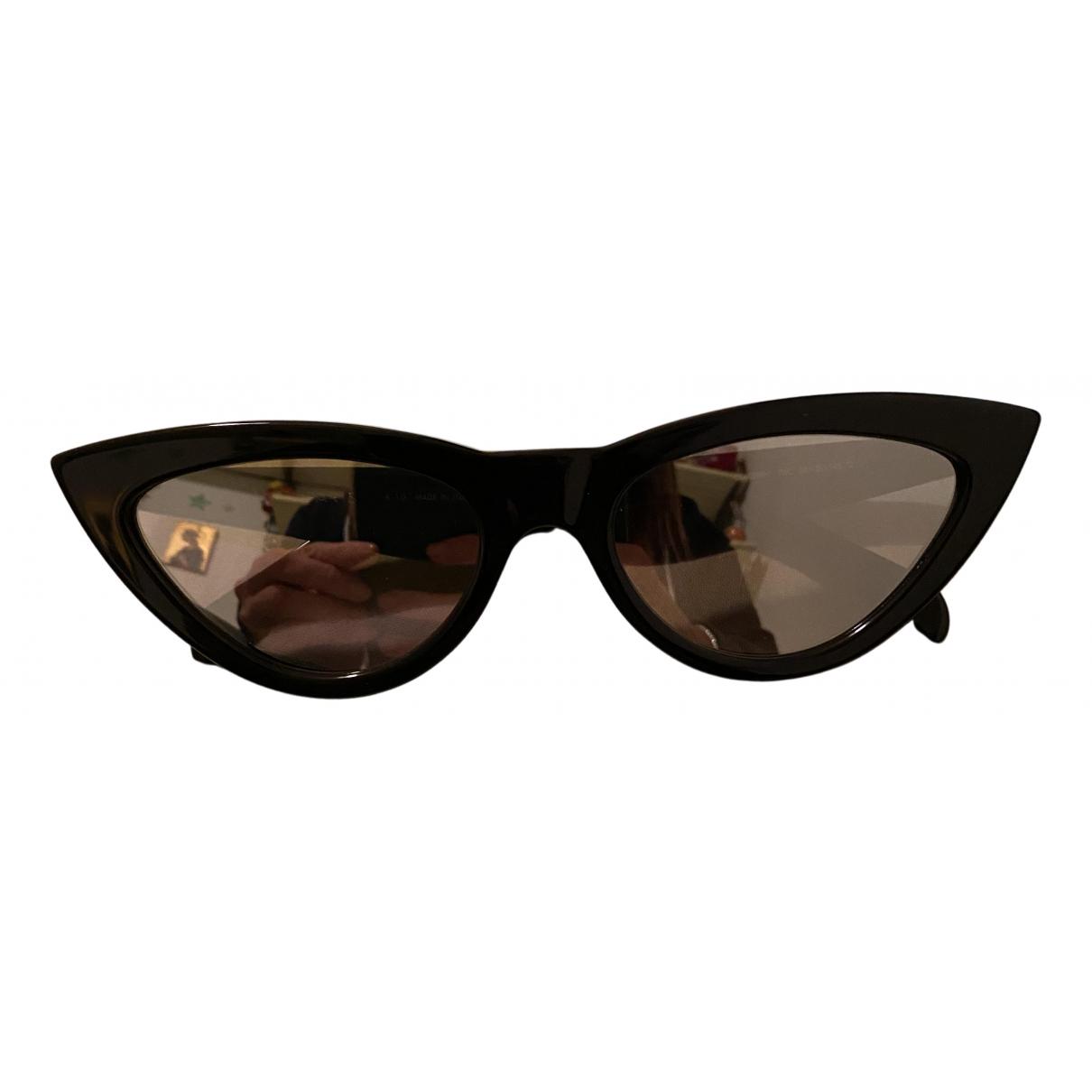 Celine \N Sonnenbrillen in  Schwarz Kunststoff