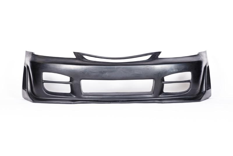 KBD Bodykits 37-2069 R34 Style 1 Piece Front Bumper Honda Civic ALL 01-03