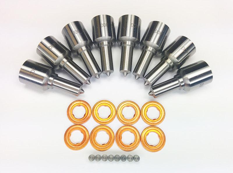 Dynomite Diesel DDP 60-SMNZ Ford 6.0L Nozzle Set Custom Super Mental