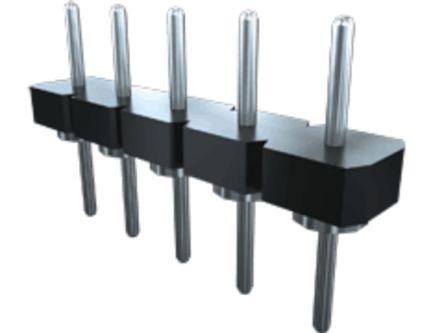 Samtec , BBL, 6 Way, 1 Row, Straight PCB Header (37)