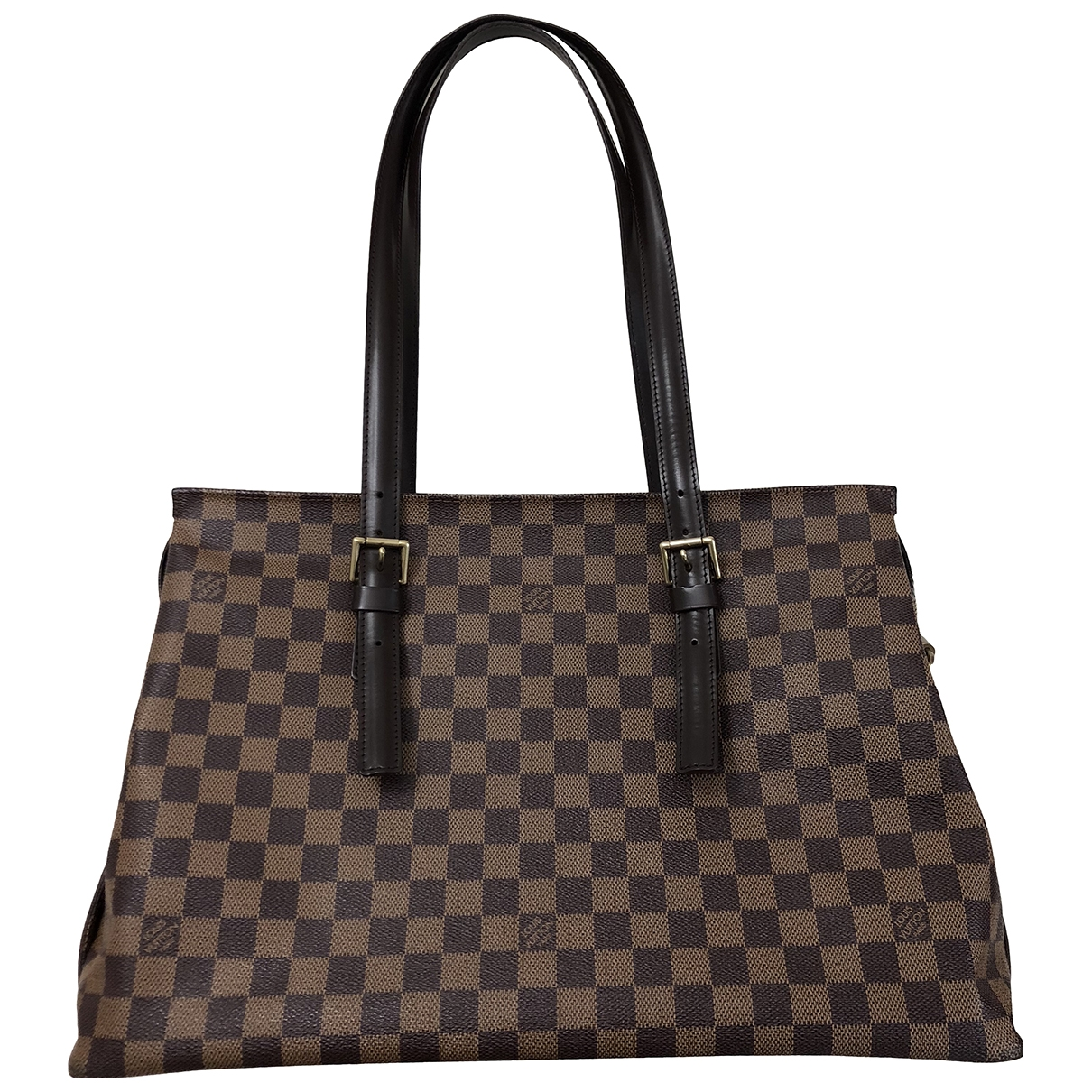 Louis Vuitton Chelsea Brown Cloth handbag for Women \N