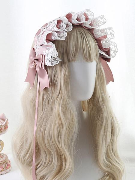 Milanoo Sweet Lolita Headdress LaceBows Headband Headwear