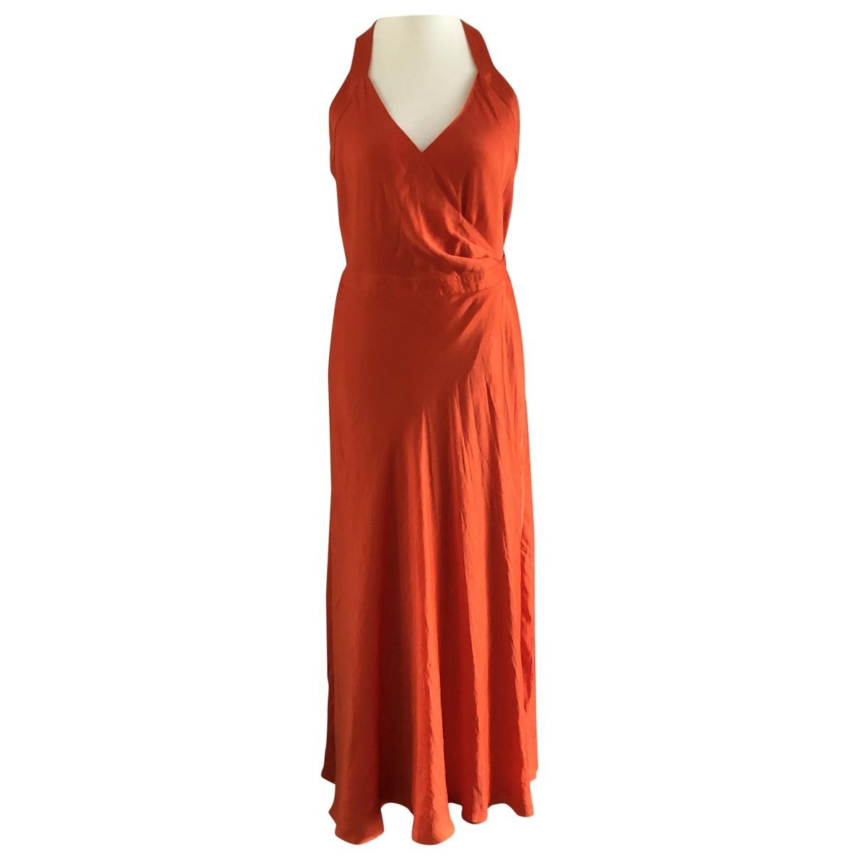 Polo Ralph Lauren \N Kleid in  Orange Polyester
